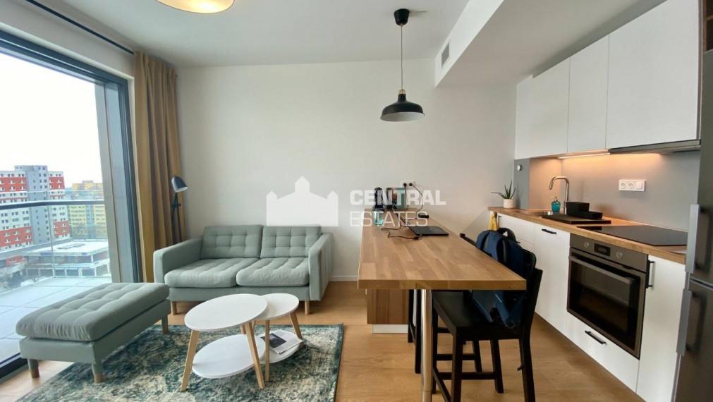 Pekný slnečný 2i byt v novostavbe s balkónom na prenájom v Petržalke