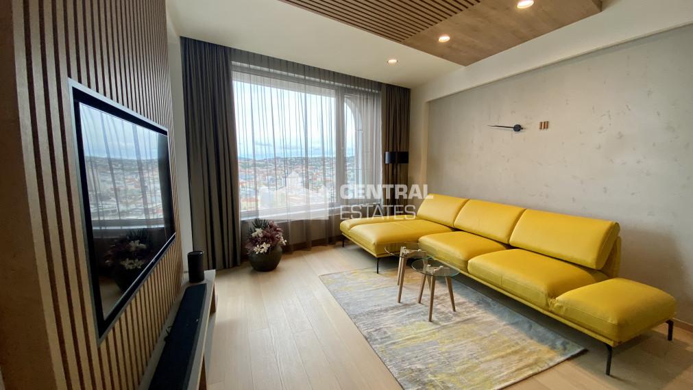 Dizajnový 2i byt v lukratívnej novostavbe s lodžiou na prenájom v Starom meste
