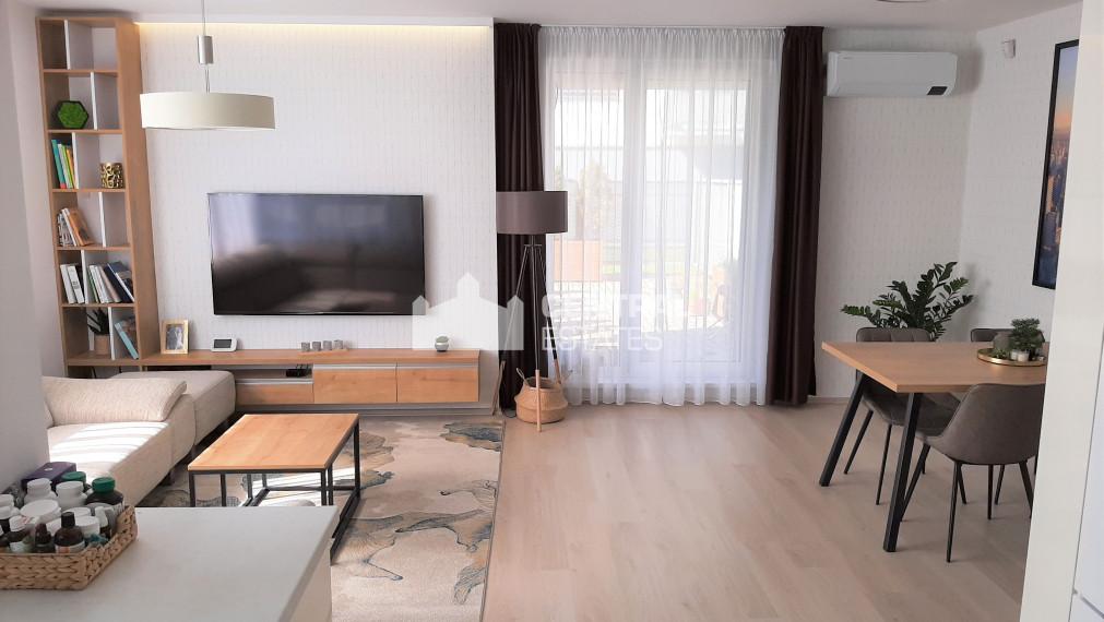 Nádherný 3.5i byt v novostavbe s predzáhradkou na prenájom v Dúbravke